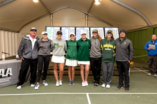 Bishop Manogue was second in the girls golf Northern 4A Regional on Thursday at ArrowCreek.