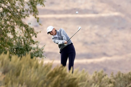 Carson's Jill Beglin was second in the girls golf Northern 4A Regional on Thursday at ArrowCreek.