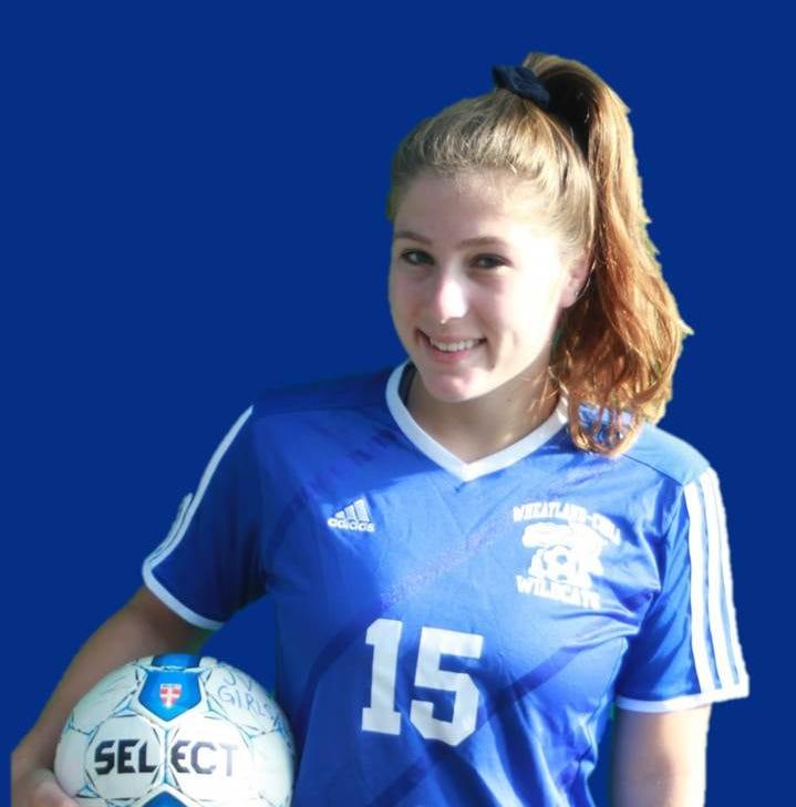 Wheatland-Chili soccer player Hannah Beldue