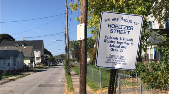 Hoeltzer Street in Rochester, N.Y.