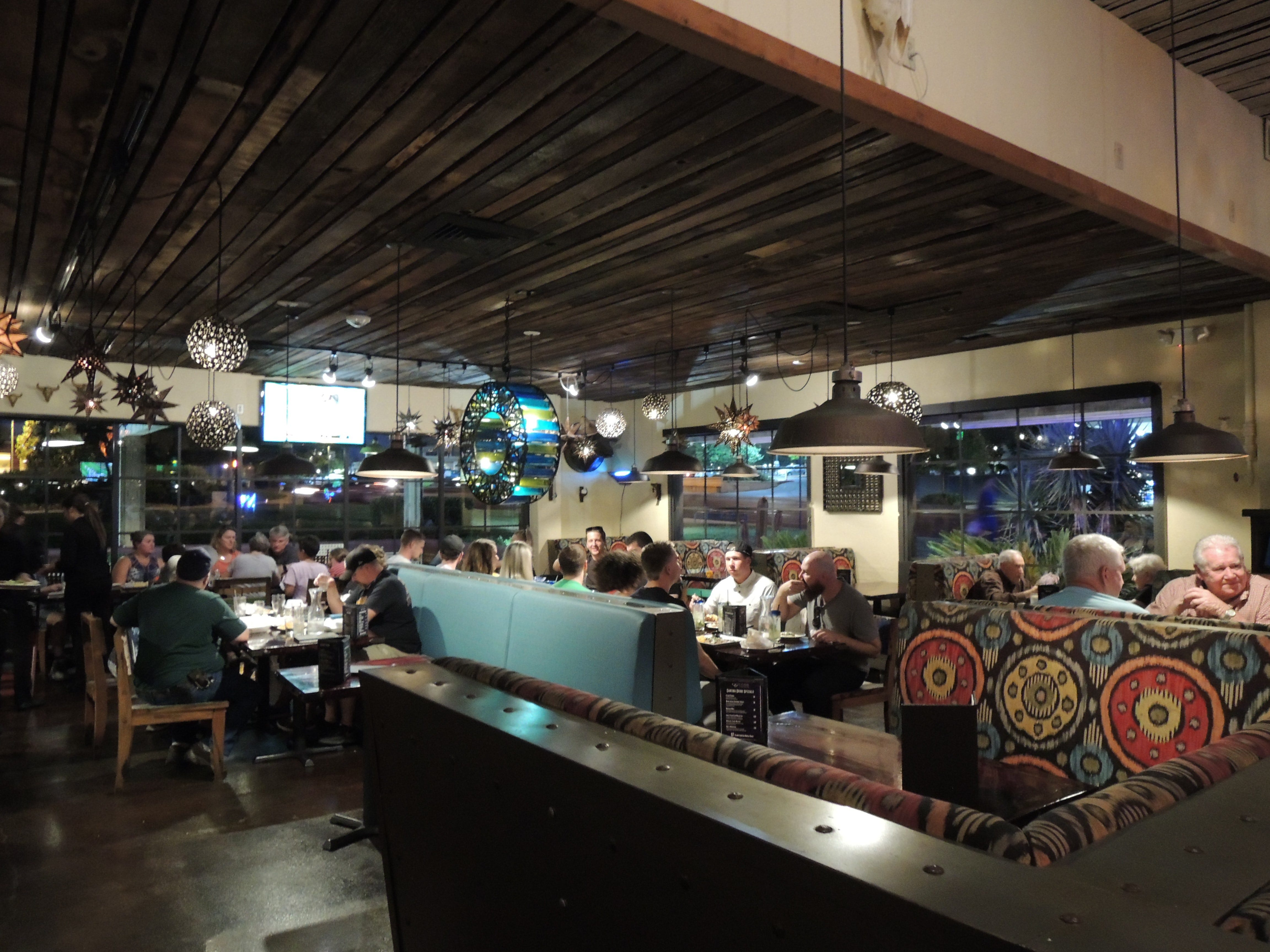 Cicada Cantina on Hilltop Drive on a busy Saturday evening recently