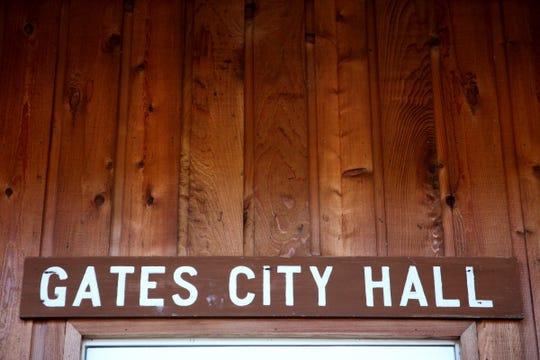 Gates City Hall on Friday, Oct. 12, 2018.