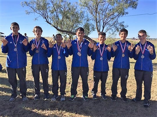 The Lake View boys cross country team was third overall at the District 5-4A meet Wednesday, Oct. 10, 2018, in Snyder.