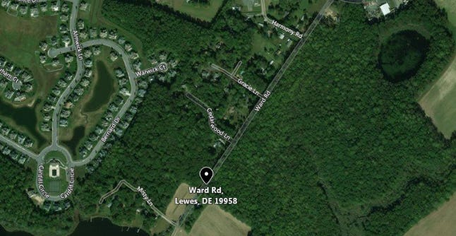 A man was injured in a home invasion in Lewes Thursday night.
