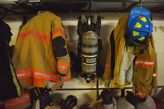 The police and fire training center Thursday, Oct. 11, at the South Dakota Air National Guard in Sioux Falls.