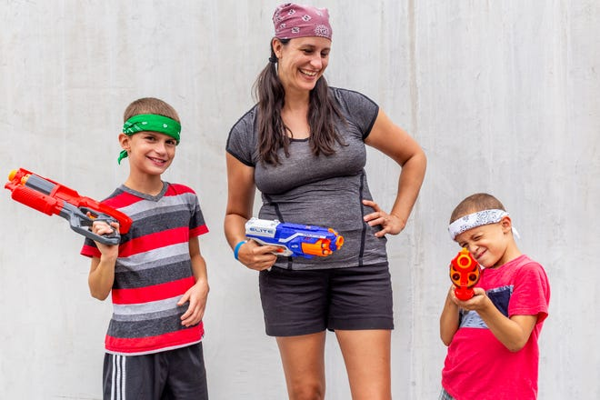 It's a first for the Park Board - a Mother-son Nerf War event Oct. 20 at Doling Family Center.