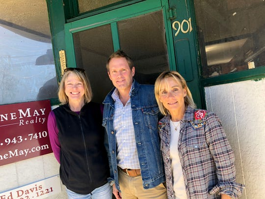 Marino's Lunch on Augusta Street in Staunton is set to get new owners — Victor and Nathalie Meyer (middle and right). Here they are pictured with Carolyn Ruleman (left) who ran the place with her family for the past 40 years.