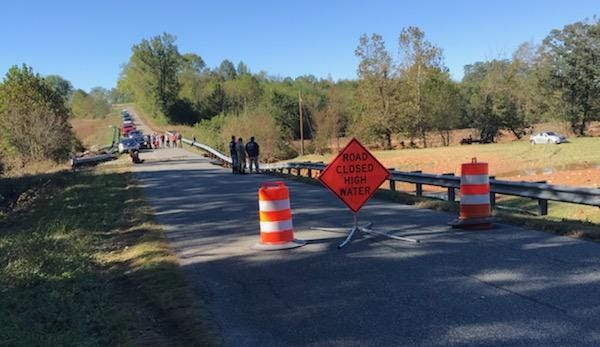 Two people were swept away in Charlotte County, police said.