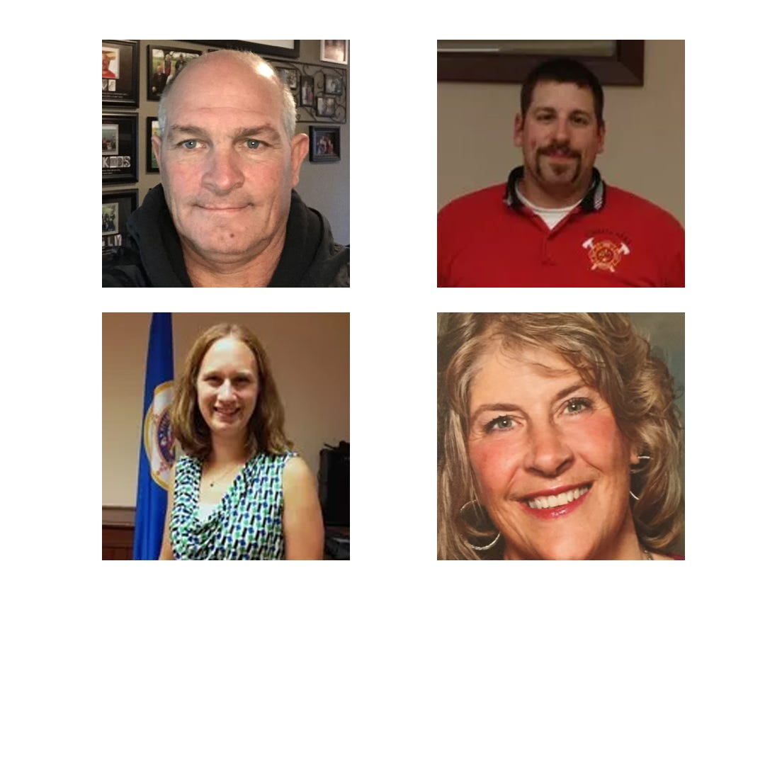 4 candidates, 2 seats: Former mayor, 2 incumbents, state employee vie for Kimball council
