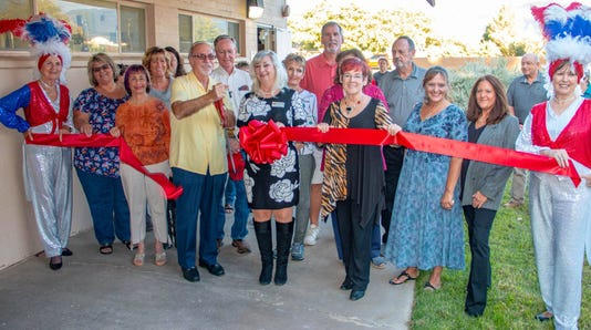 Mesquite Women's History Center Ribbon Cutting