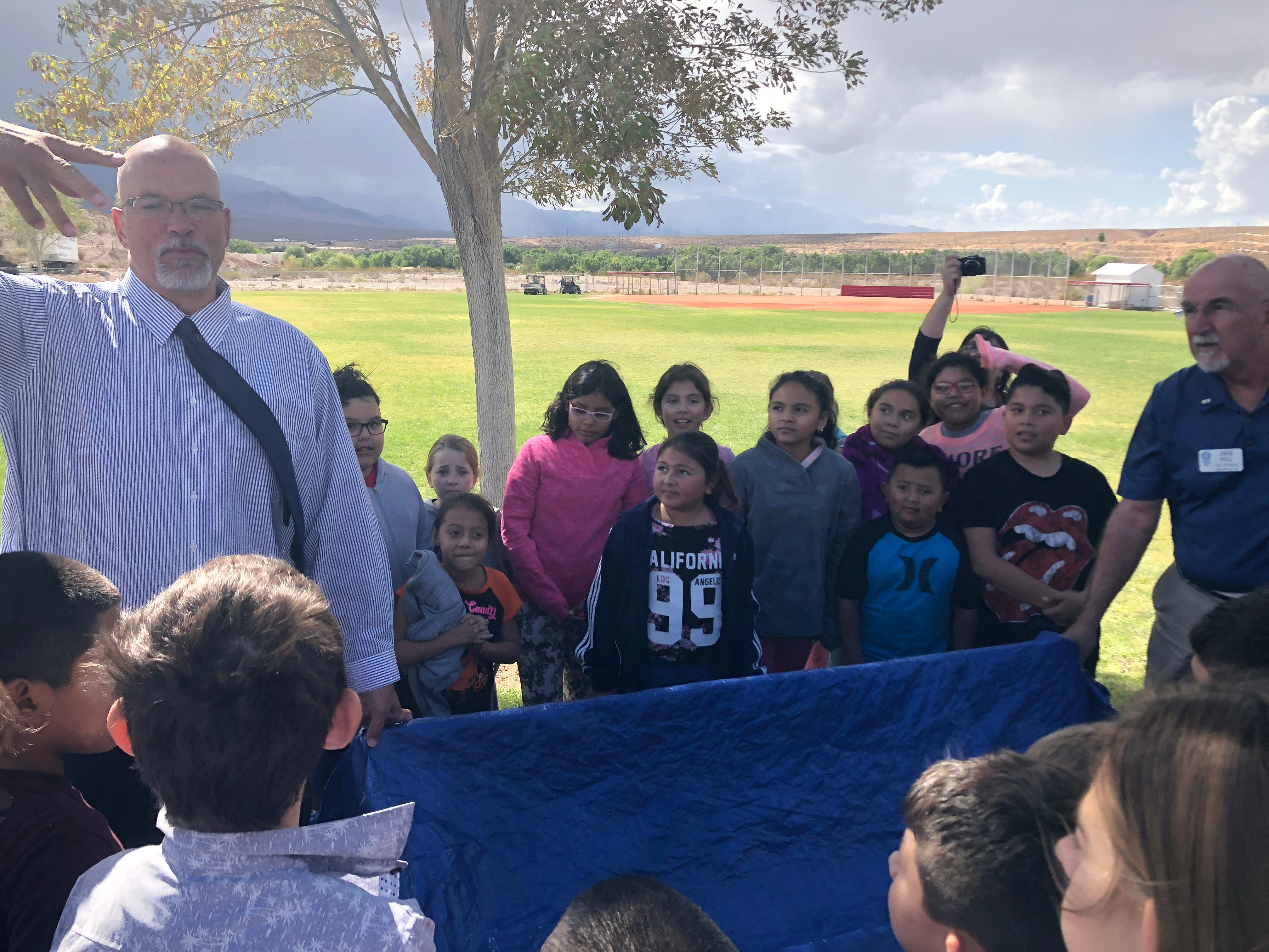 Beaver Dam Elementary gets Buddy Bench