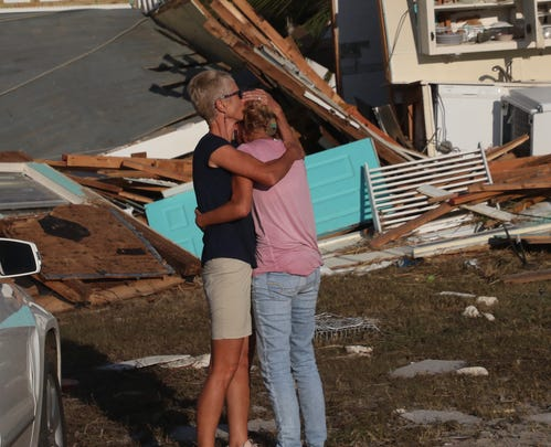 Hurricane Michael damage Mexico Beach crumbles in Panhandle