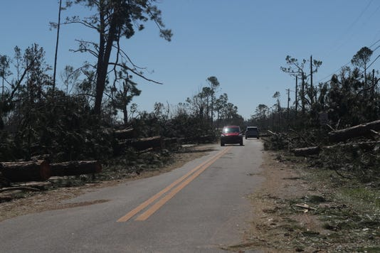 Liberty And Calhoun Counties Post Hurricane Michael 101218 Ts 108