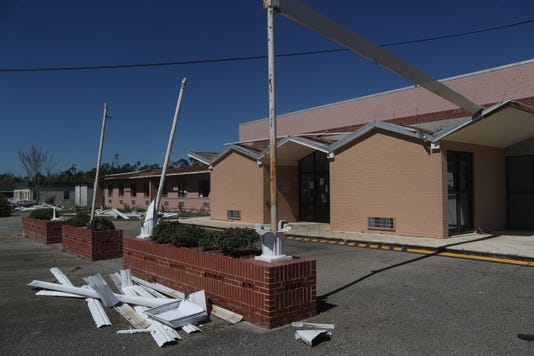 Liberty And Calhoun Counties Post Hurricane Michael 101218 Ts 111