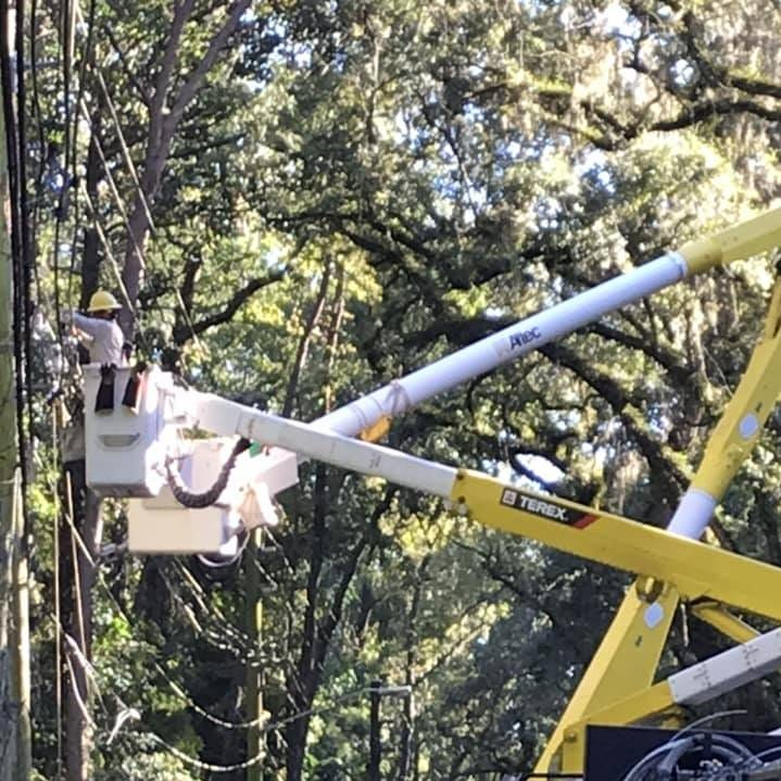 City of Tallahassee electric power restoration at 91 percent