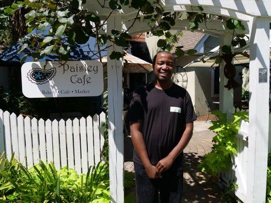 Kevin Graham loves his job at Paisley Cafe in Tallahassee.