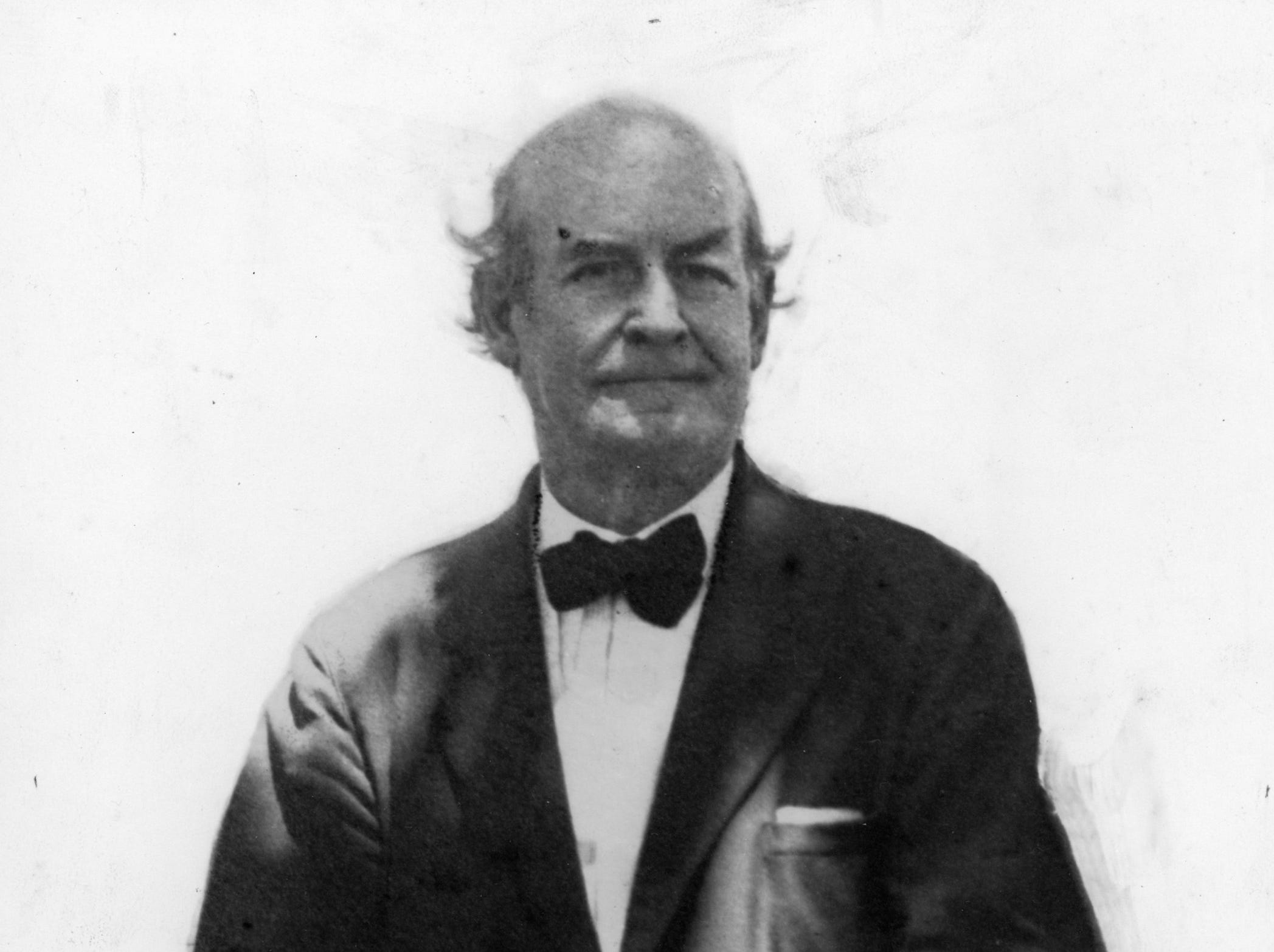 "William Jennings Bryan spoke at the inception ceremony in 1925 for Indian River County, know as the ""Great Commoner"", he was the 1896 democratic presidential candidate for the United States."
