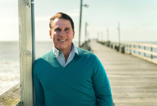 "Bestselling author Nicholas Sparks is appearing at the Vero Beach High School Performing Arts Center to talk about his newest novel, ""Every Breath."""