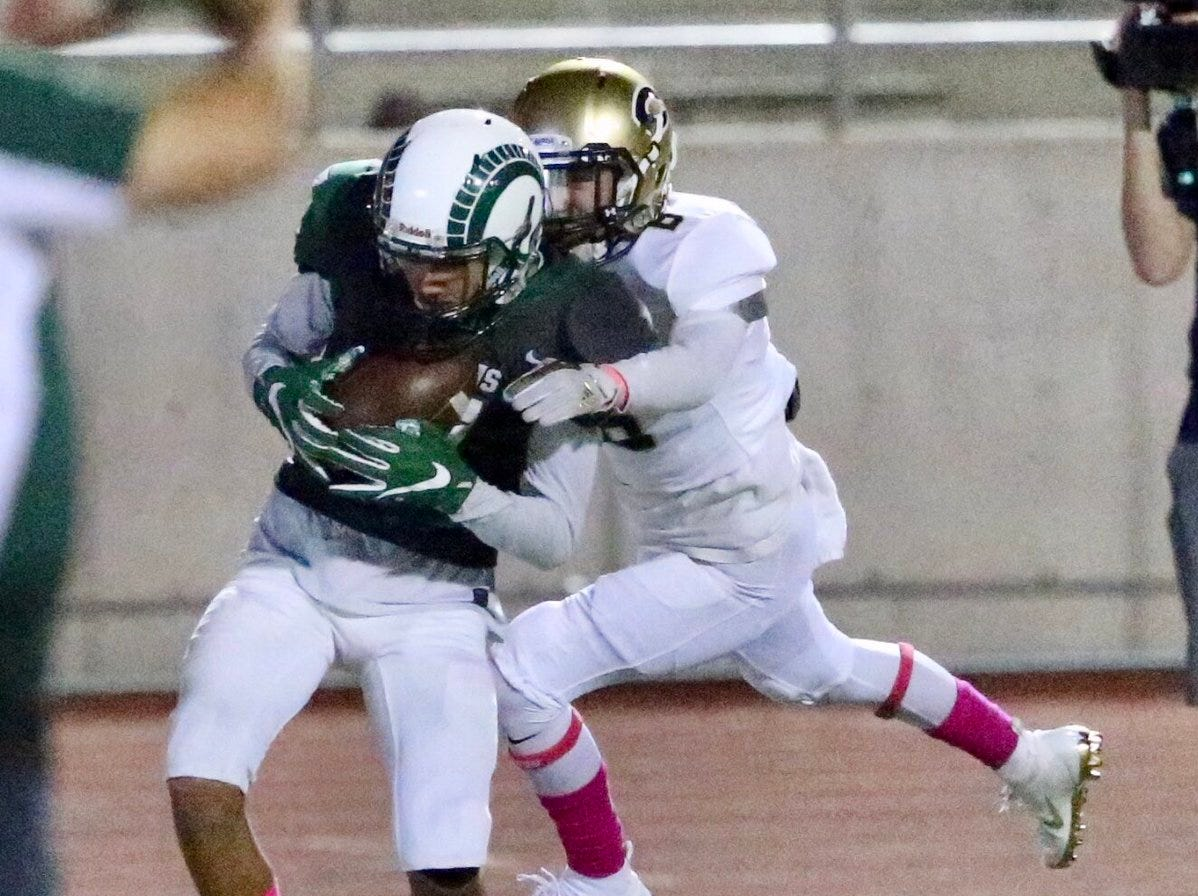 The action was intense when Coronado and Montwood faced off Thursday night at the SAC.