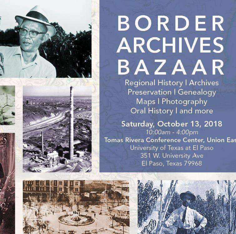 Border Archive Bazaar an opportunity to learn about El Paso-Juárez region's history