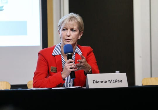 Ventura County Community College District board incumbent Dianne McKay has apparently held on to her seat in District 2.