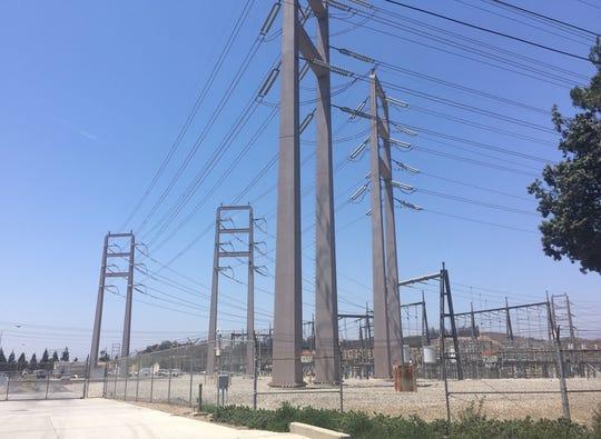 A Southern California Edison facility in Ventura County.