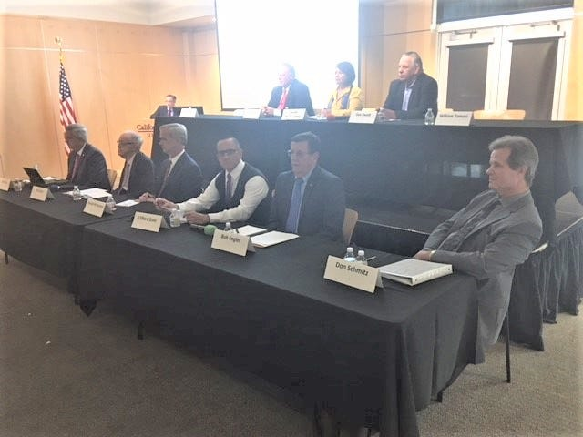 Nine candidates for three seats on the Thousand Oaks City Council discussed growth, housing, traffic and not turning into the highly-developed San Fernando Valley at a forum this week.