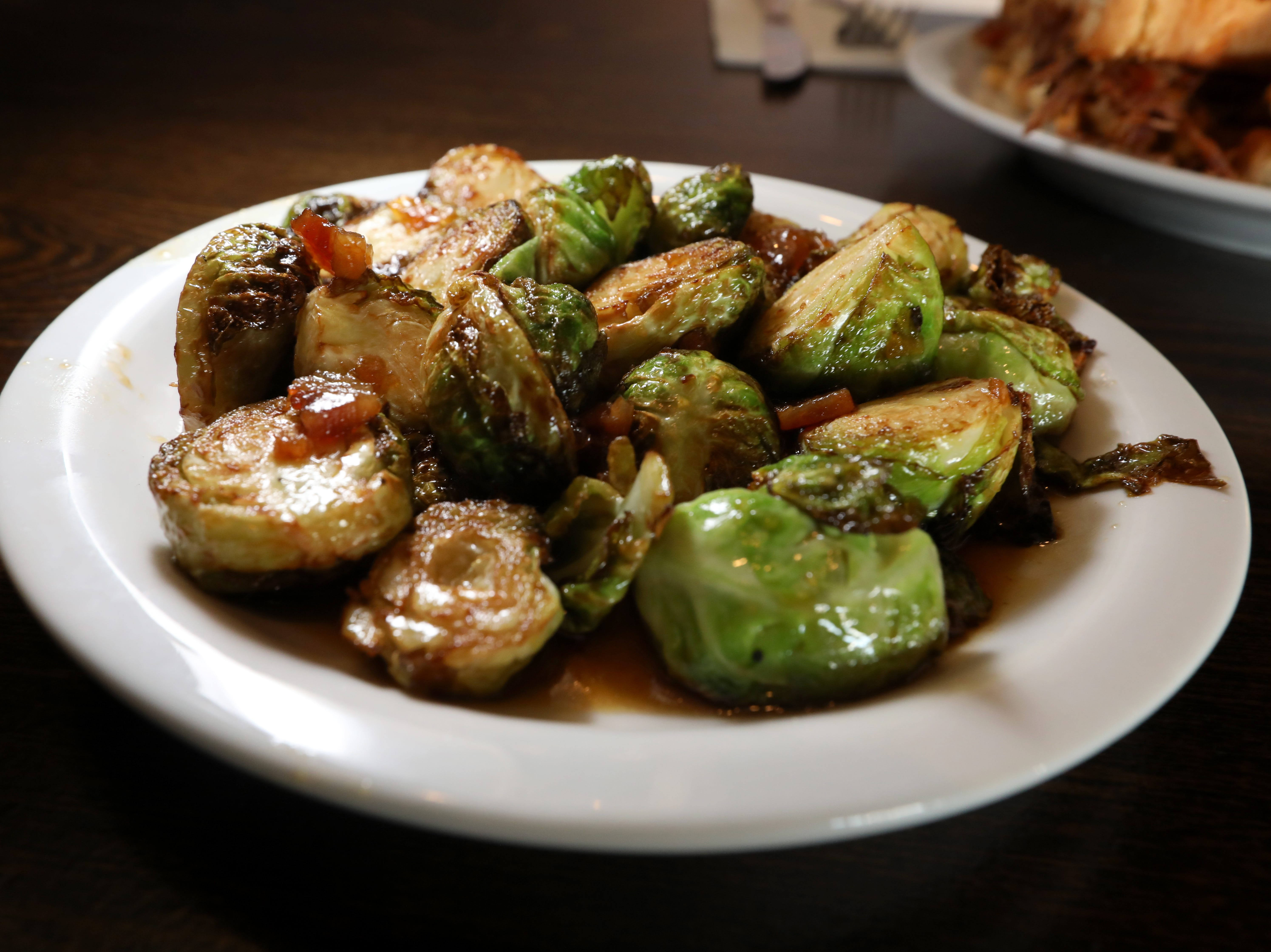 Brussel sprouts at the Foggy Bottom Tavern in New City Oct. 12, 2018.