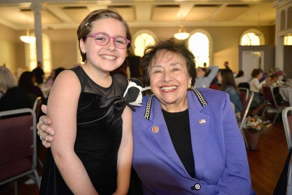 Josie Rothman with Congresswoman Nita Lowey