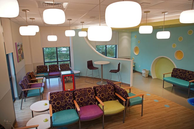 Swank Autism Center opened at the Rockland Center across from Nemours/A.I. duPont Hospital for Children to add more services for children and parents with autism needs.