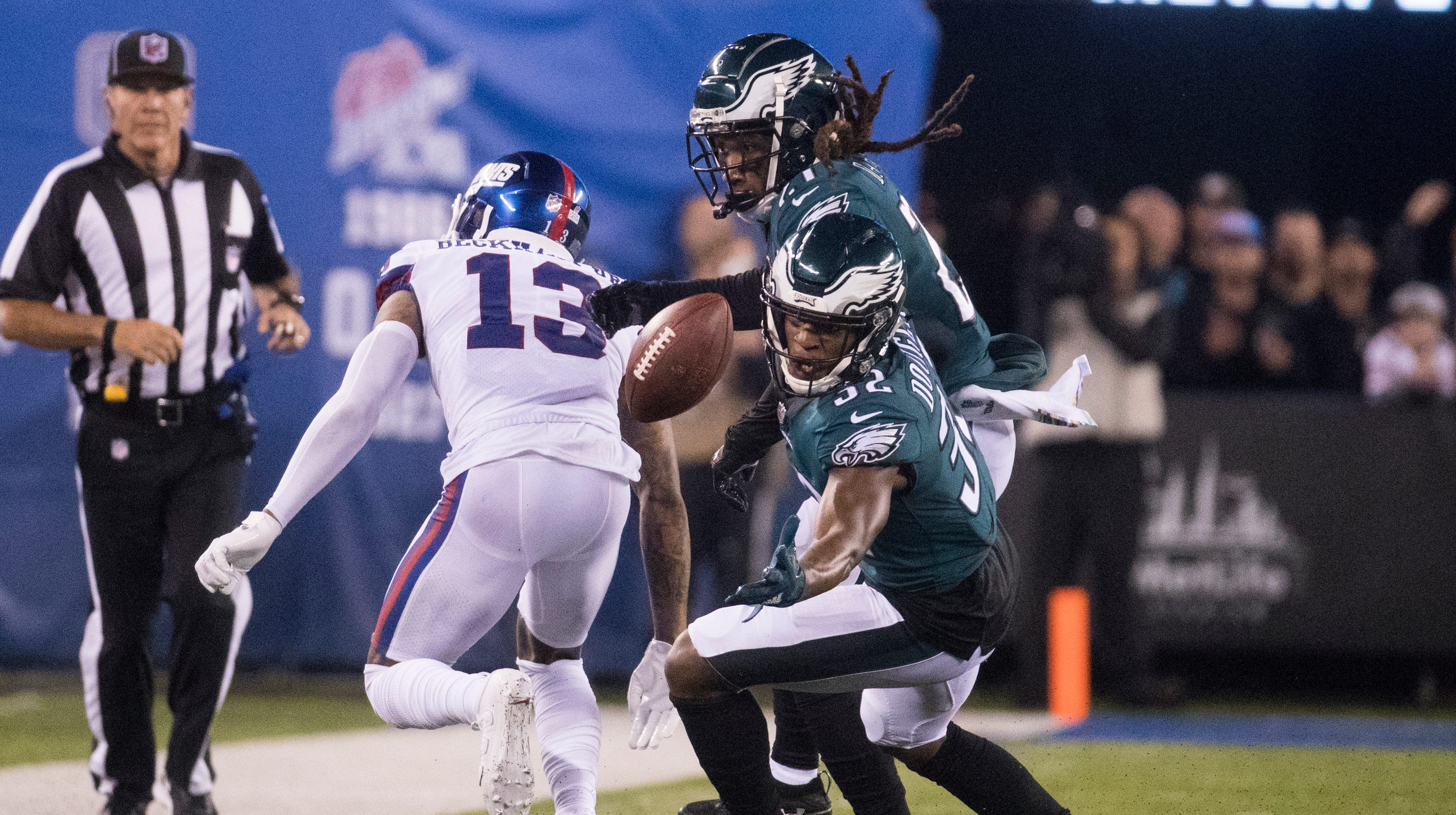 Rasul Douglas had never played safety before in the NFL before getting thrown out there against the Giants. Will he stay there?