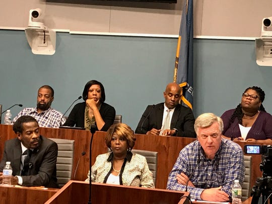Councilman Bud Freel defended his blight legislation at a Wilmington City Council Community Development & Urban Planning meeting on Oct. 11. He said the proposal isn't intended to take people's property away.