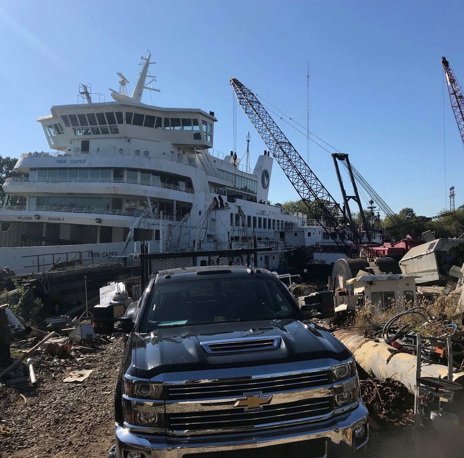 Salvaged items from sunken Cape May-Lewes Ferry featured on Sunday night show