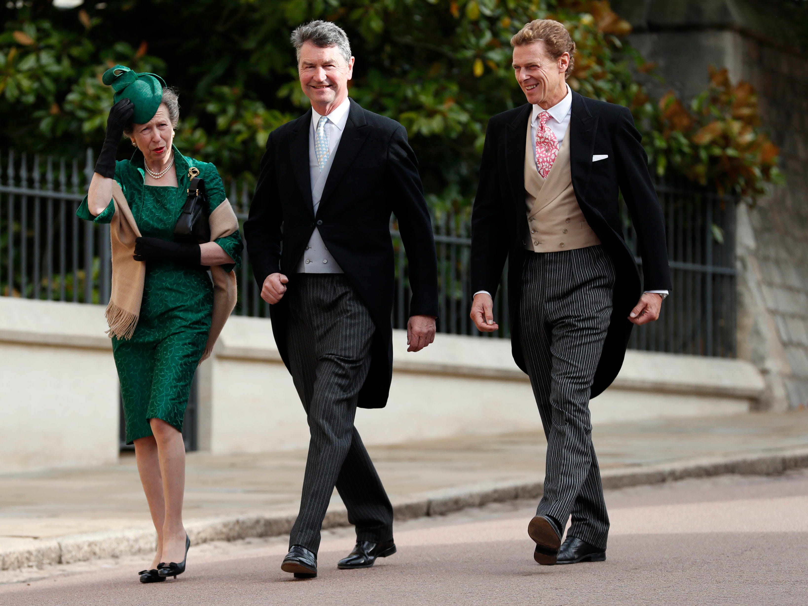 Princess Anne, Princess Royal and Sir Timothy Laurence.