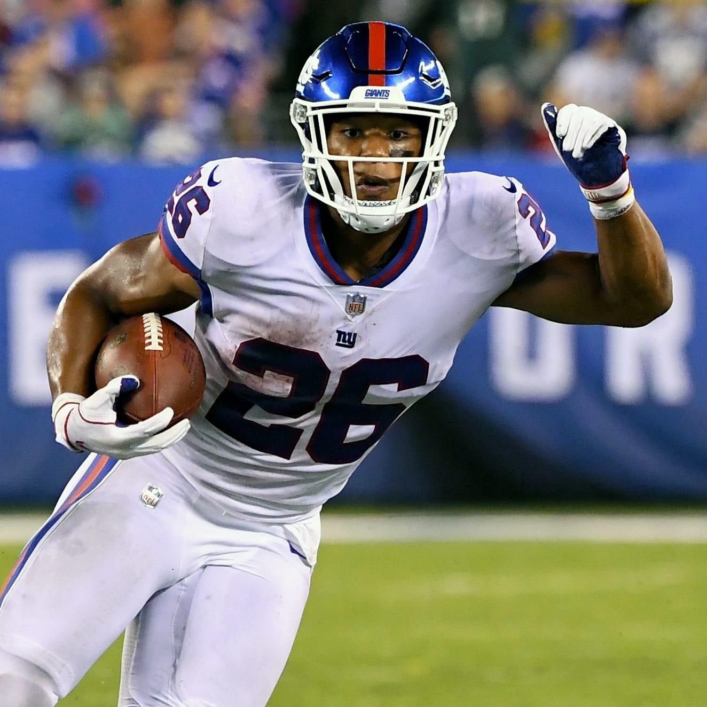 Saquon Barkley has highlight-reel performance despite Giants' struggles vs. Eagles