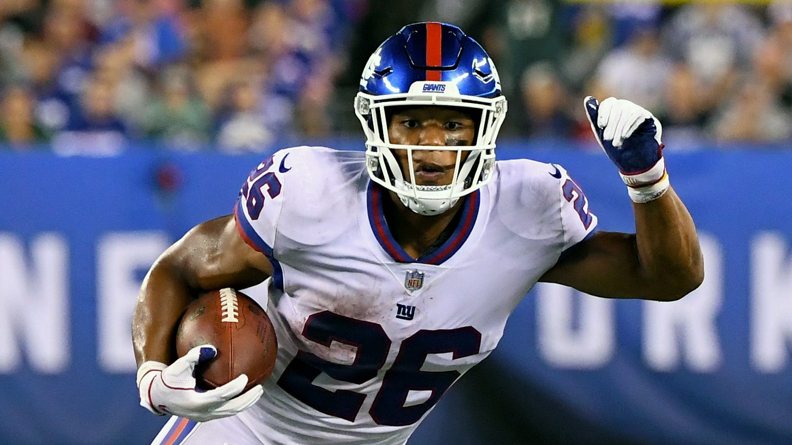 At least the New York Giants have Saquon Barkley, who put on a spectacular performance against the Philadelphia Eagles on Thursday night.