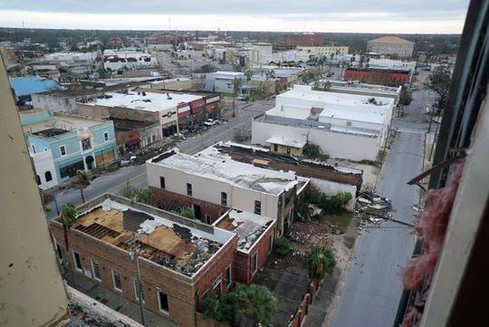 Panama City, Fla. suffered significant damage during Hurricane Michael.