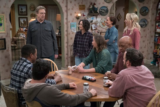 "Even though Roseanne is gone, the Conner family is still crowded with family and friends in the ABC comedy series, ""The Conners""."