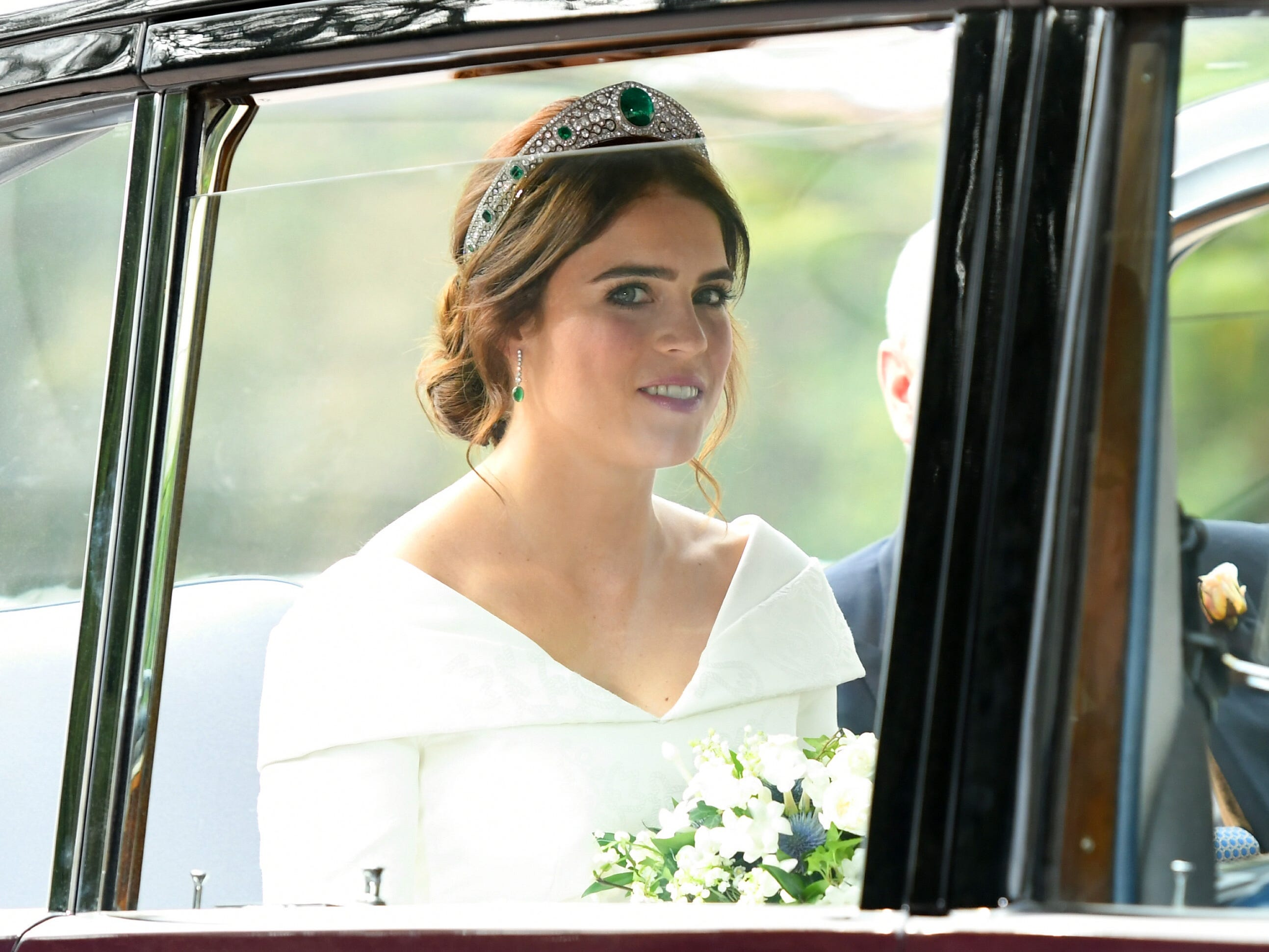 The bride Princess Eugenie of York.