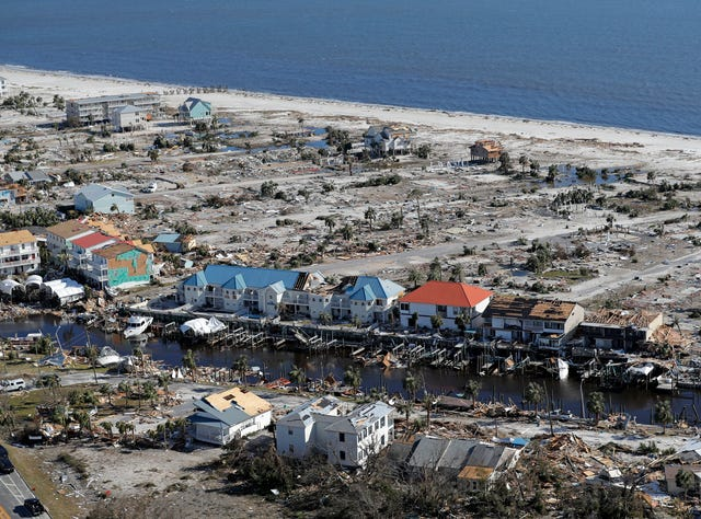 Hurricane Michael damage: Before and after images of its