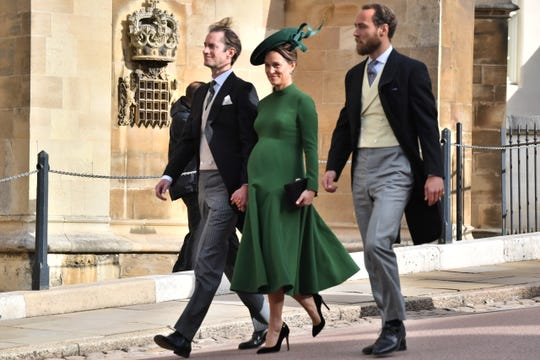 James Matthews, Pippa Middleton and James Middleton.