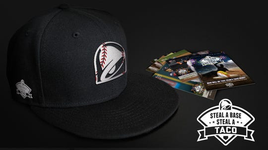 Taco Bell  will have limited-edition baseball caps and an exclusive trading card collection from Topps.