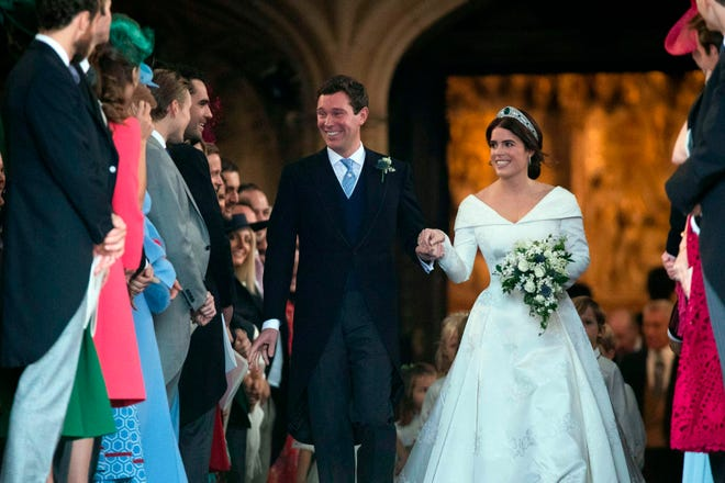 He may be married to a royal but he's still just Mr. Jack Brooksbank – no HRH, Duke, Lord or Viscount for him.