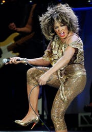 Tina Turner performs in Zurich, Switzerland on Feb. 15, 2009.