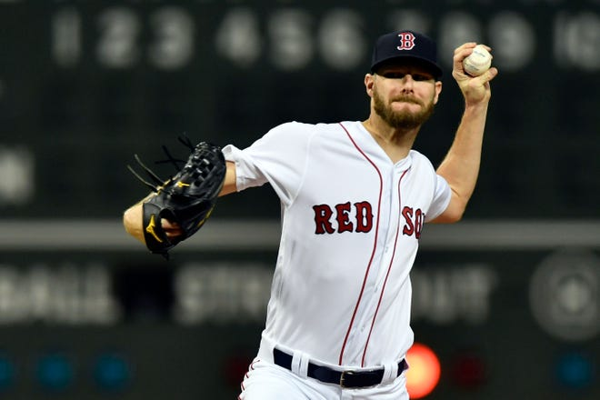 Red Sox starting pitcher Chris Sale is one of the main reasons Boston has a World Series shot.