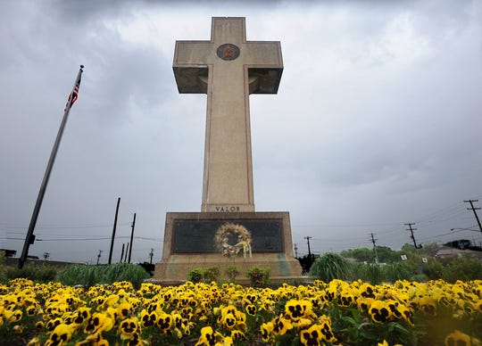 The World War I memorial cross in Bladensburg, Maryland, has been the focus of a Supreme Court case on the separation of church and state.