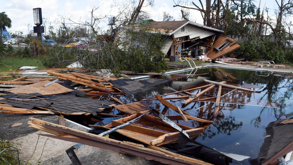 Hurricane Michael damage: Before and after images of its devastation