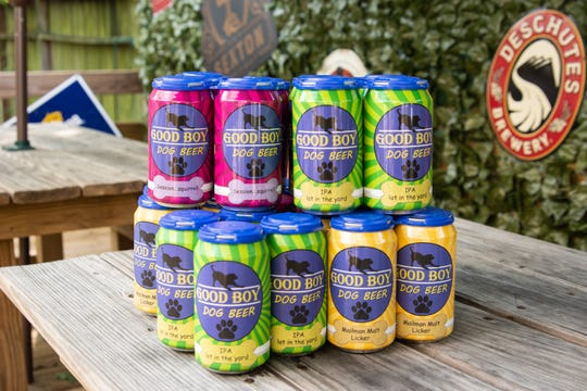 Good Boy Dog Beer offers three different brews with plans to add a fourth to their lineup.