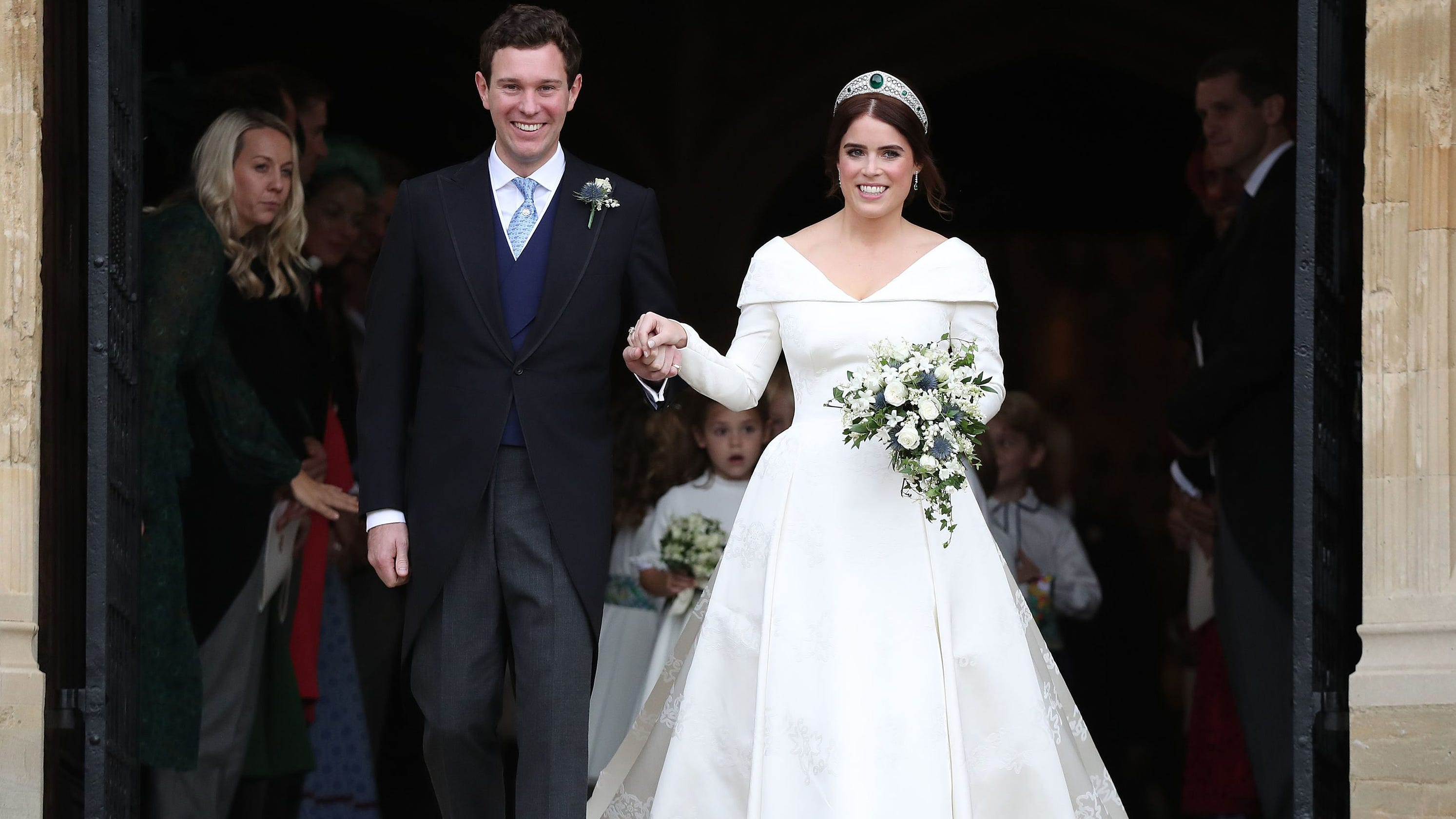 23716a646e0 Princess Eugenie marries Jack Brooksbank at star-studded royal wedding in  Windsor