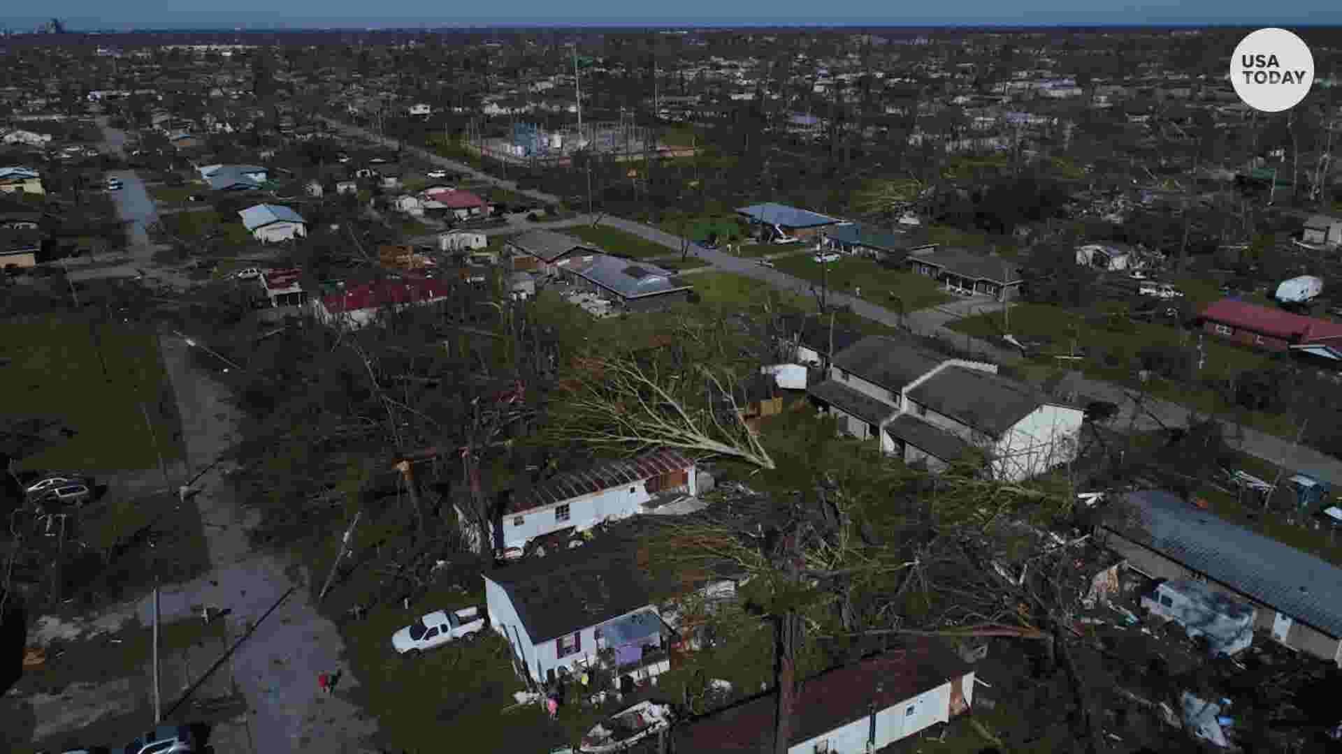 Hurricane Michael: Survivors scramble for food as crews